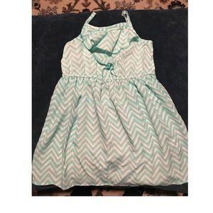Toddler girls Chevron dress